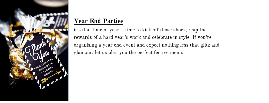 end year parties